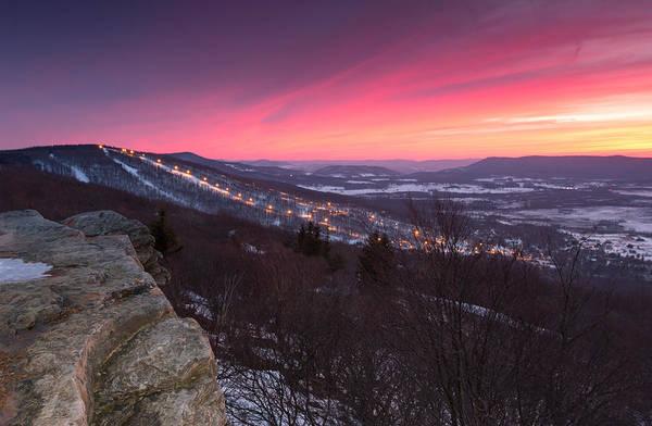Timberline Photograph - Timberline Sunset by Martin Radigan