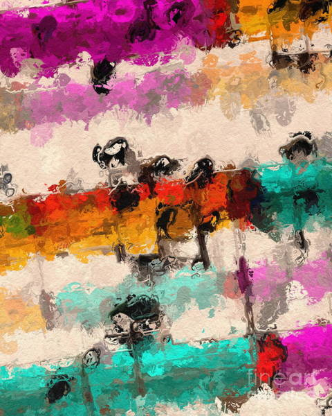 Digital Art - Timbral Modulations 1 by Lon Chaffin