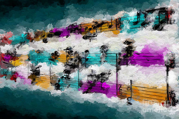 Digital Art - Timbral Modulations 2 by Lon Chaffin