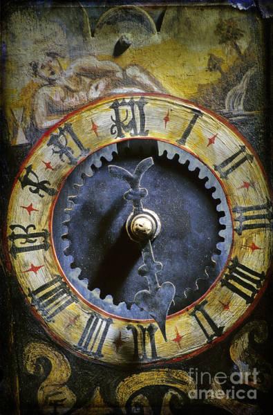 Dials Photograph - Time by Bernard Jaubert