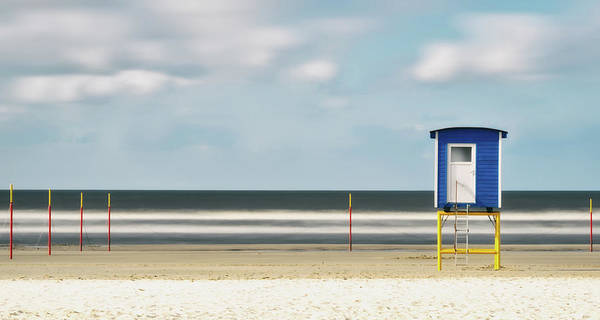 Wall Art - Photograph - Time Exposure On Langeoog Beach by Manfred Uhr