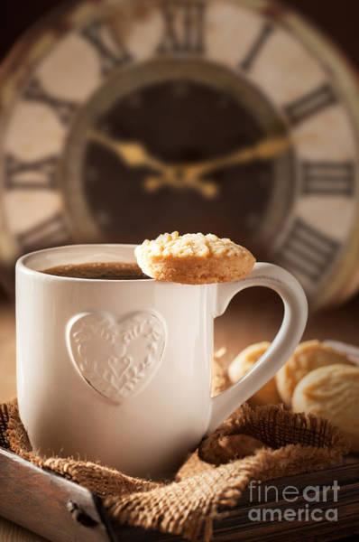 Coffee Mug Photograph - Time For Coffee by Amanda Elwell