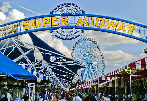 County Fair Wall Art - Photograph - Fun On The Midway by David and Carol Kelly