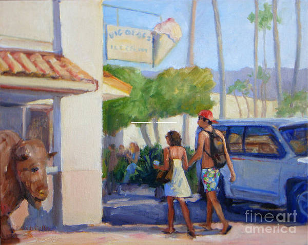 Painting - Time For Ice Cream by Joan Coffey