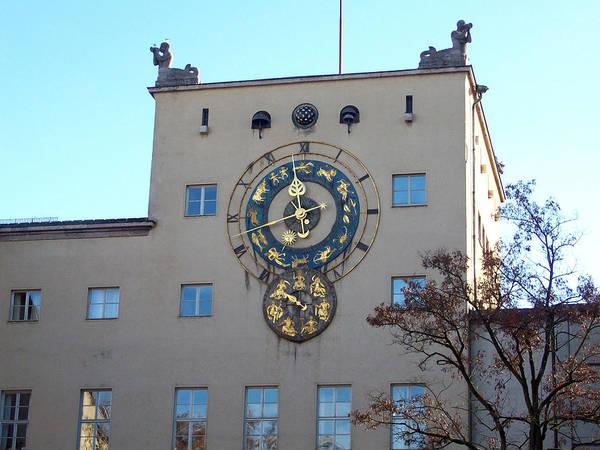Photograph - Astrology Clock by Jason Girard