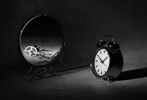 Clock Wall Art - Photograph - Time Is Just A ... by Victoria Ivanova