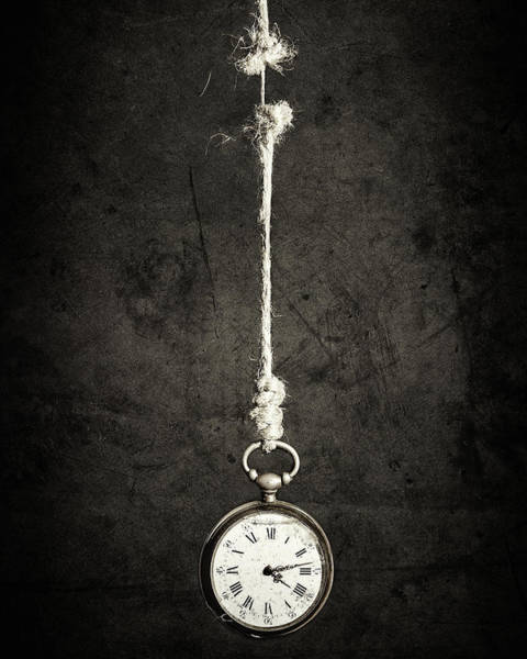 Clock Wall Art - Photograph - Time Is Up by Sergio Rapagn??
