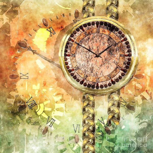 Digital Art - Time Lost by Elle Arden Walby