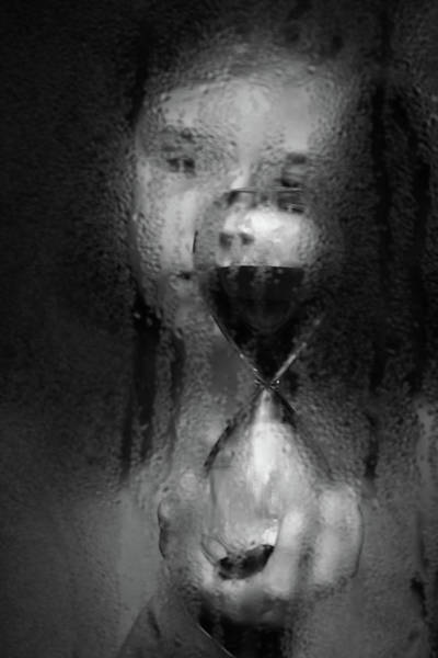 Sorrow Photograph - Time by Mirjam Delrue