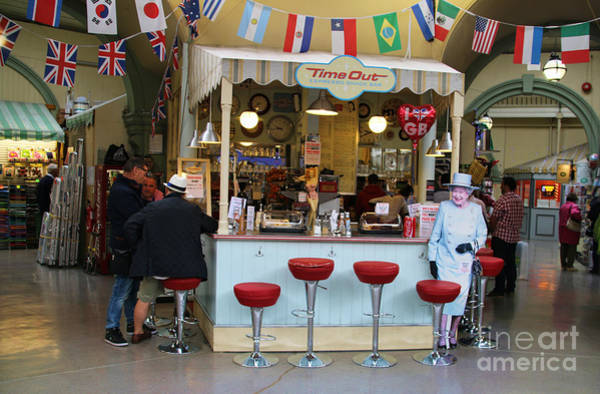 Queens Bath Photograph - Time Out Snack Bar In Bath England by Jack Schultz
