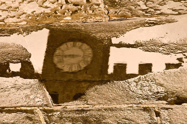 Photograph - Time Reflected by Mick Burkey