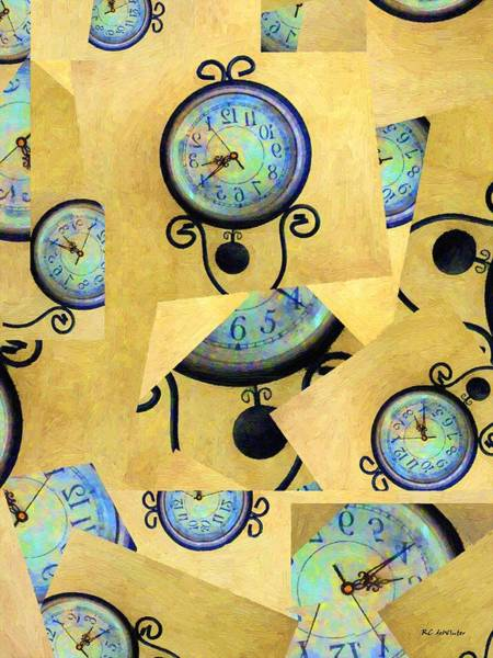 Painting - Time Release by RC DeWinter