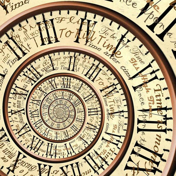 Time Art Print by Robbert van der Steeg