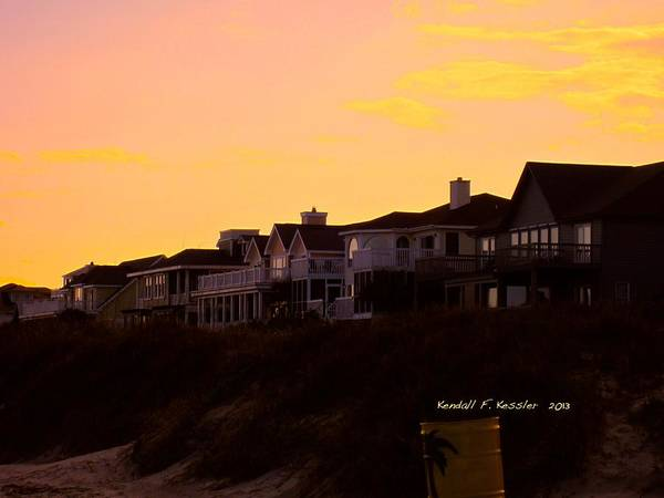 Photograph - Time To Go At Isle Of Palms by Kendall Kessler