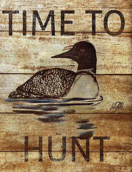 Hunt Digital Art - Time To Hunt  II by Julie Derice