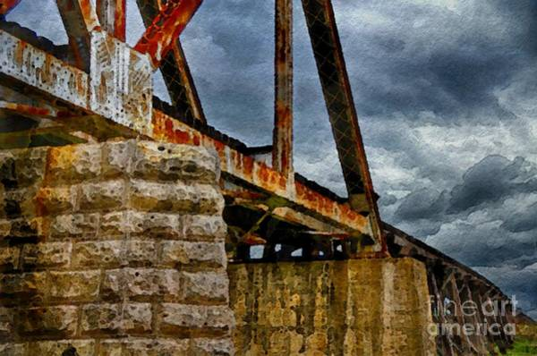 Photograph - Time Trestle Wc by Ken Williams