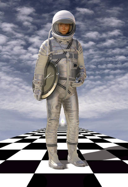 Spaceman Wall Art - Photograph - Time Zone by Mike McGlothlen