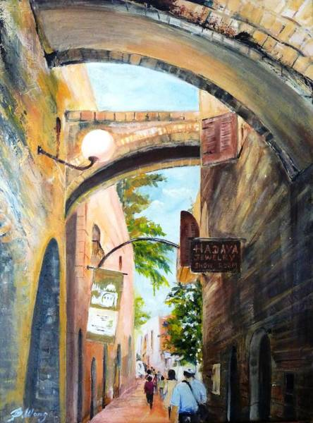 Painting - Timeless Alleys by Betty M M Wong