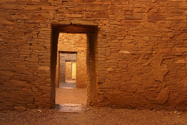Chaco Canyon Wall Art - Photograph - Timeless Doorways by Allen W Sanders