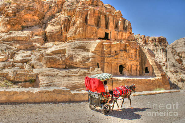 Photograph - Timeless In Petra by David Birchall