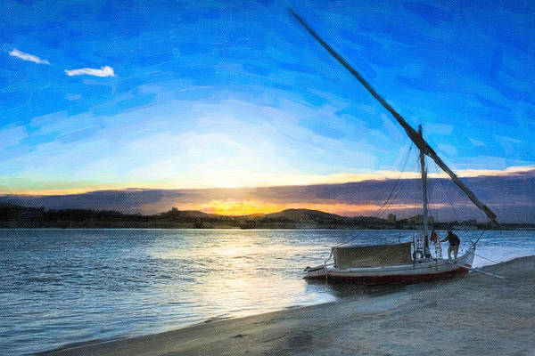 Photograph - Timeless Morning On The River Nile by Mark Tisdale