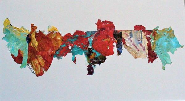 Bright Colours Mixed Media - Timeline by Mary Sullivan