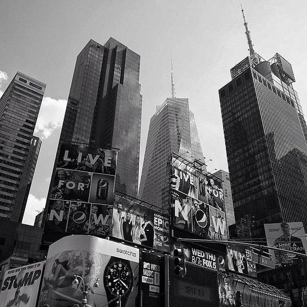Wall Art - Photograph - Times Square - Ny by Joel Lopez