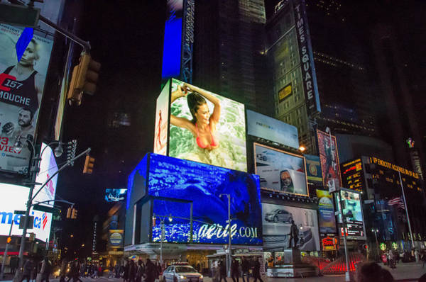 Photograph - Times Square by Guy Whiteley