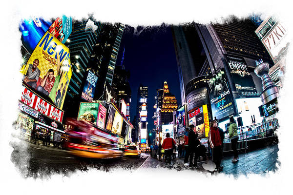 Photograph - Times Square by James Howe