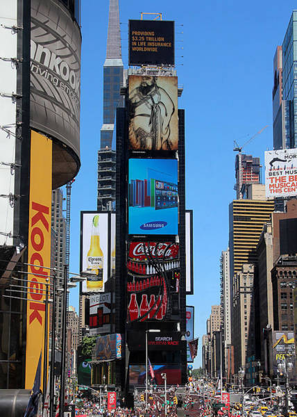 Photograph - Times Square by Jemmy Archer