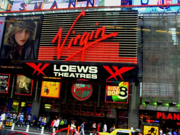 Photograph - Times Square Virgin by Cleaster Cotton