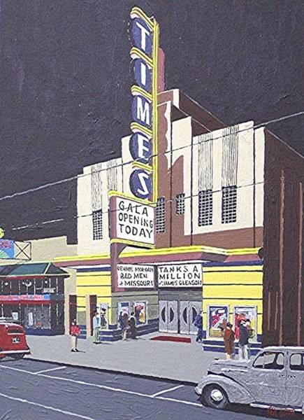 Times Theatre Art Print by Paul Guyer