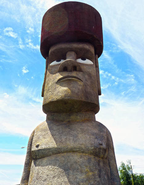Waterbury Photograph - Timex Moai by C H Apperson