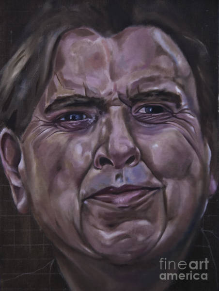 Painting - Timothy Spall by James Lavott