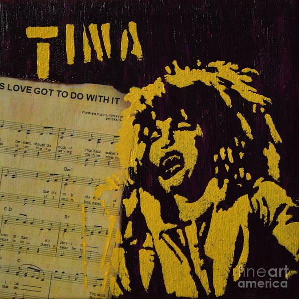 Tina Art Print