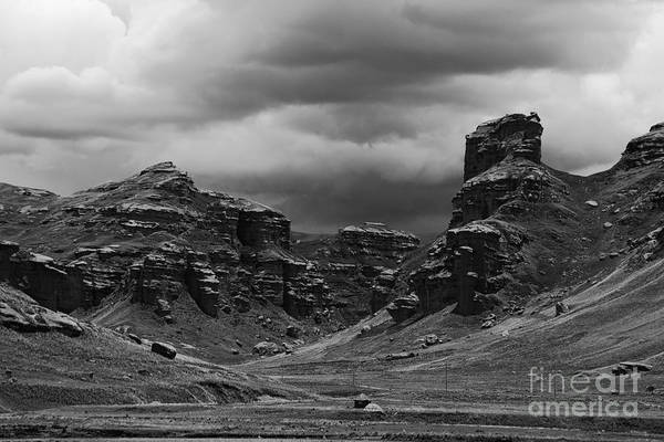 Puno Photograph - Tinajani Canyon Near Puno Peru by James Brunker