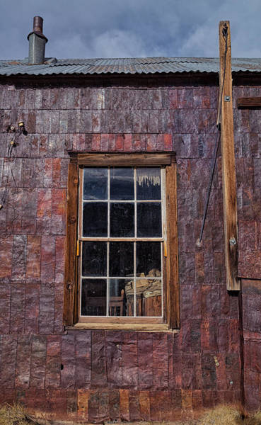 Bishop Hill Photograph - Tin Can Architecture At Bodie by Kathleen Bishop
