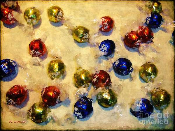 Painting - Tinfoiled Truffles by RC DeWinter