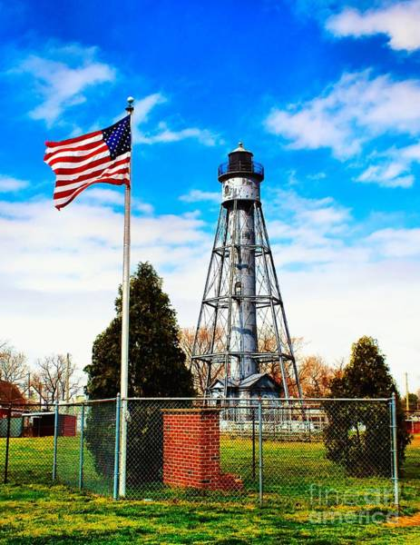Photograph - Tinicum Rear Range Light by Nick Zelinsky