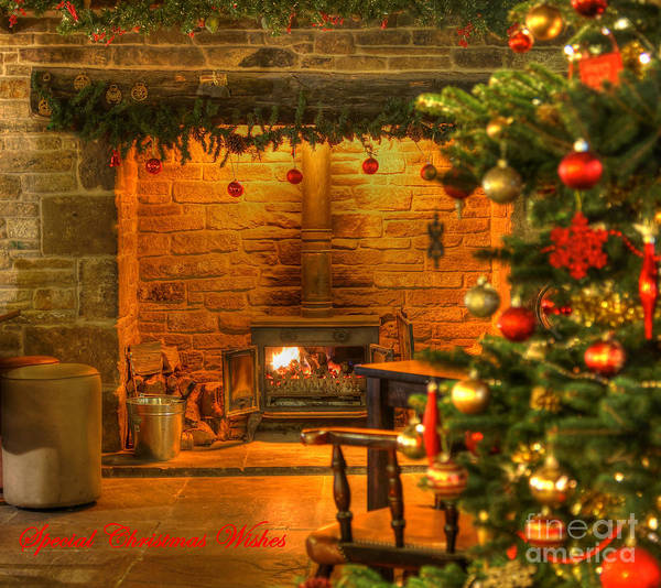 Photograph - Tinsel And Fire by David Birchall