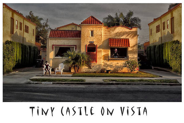 Tiny Castle On Vista Art Print