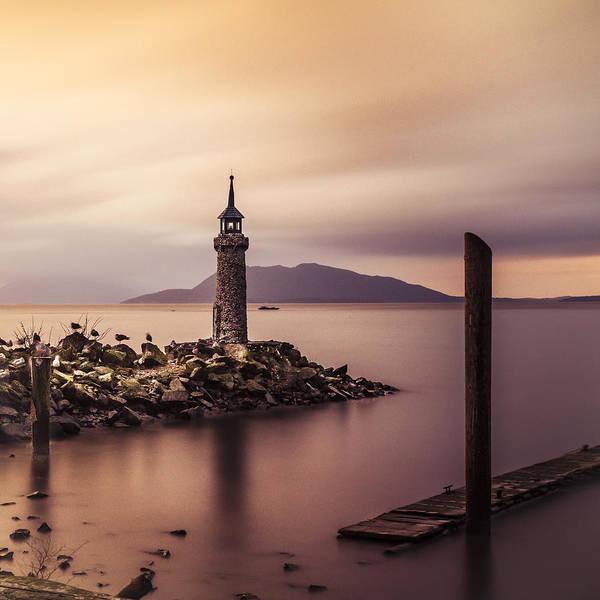 Wall Art - Photograph - Tiny Lighthouse by Tony Locke