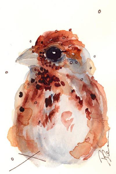 Tiny Sparrow Art Print