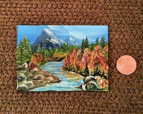 Painting - Tiny Stream by Steve Ozment