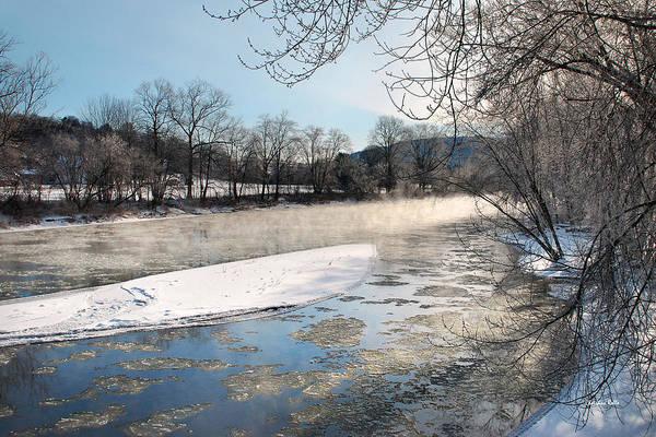 Photograph - Tioughnioga River Landscape by Christina Rollo