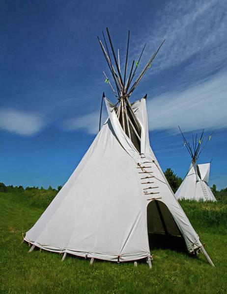 Wall Art - Photograph - Tipi, Plains Indian by Millard H. Sharp