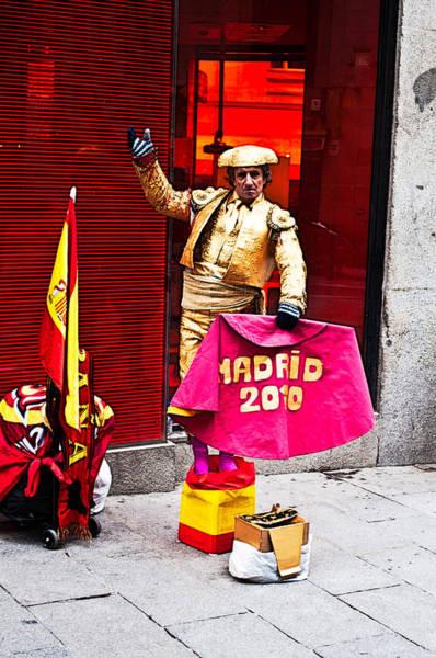 Toreador Photograph - Tipical Spanish by Aurelio Bello