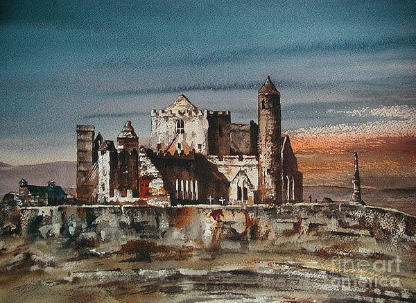 Photograph - Tipperary Cashel by Val Byrne