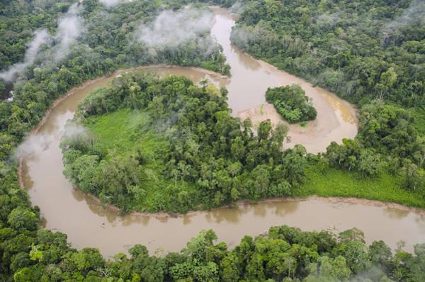 Photograph - Tiputini River And Rainforest Yasuni by Pete  Oxford