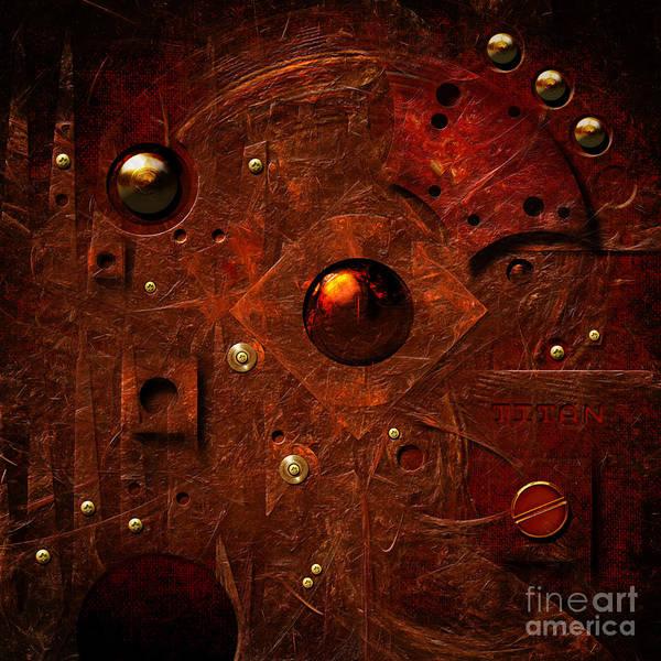 Digital Art - Titan by Alexa Szlavics